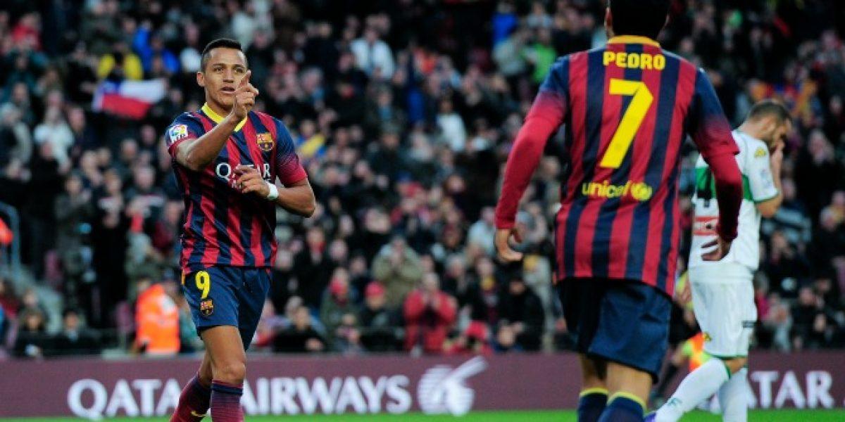 En Directo: Barcelona buscará el liderato de la Liga con Alexis Sánchez como titular