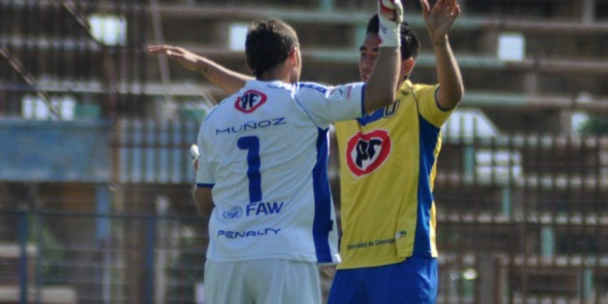 Universidad de Concepción venció a Unión La Calera y se acerca a la punta de la tabla