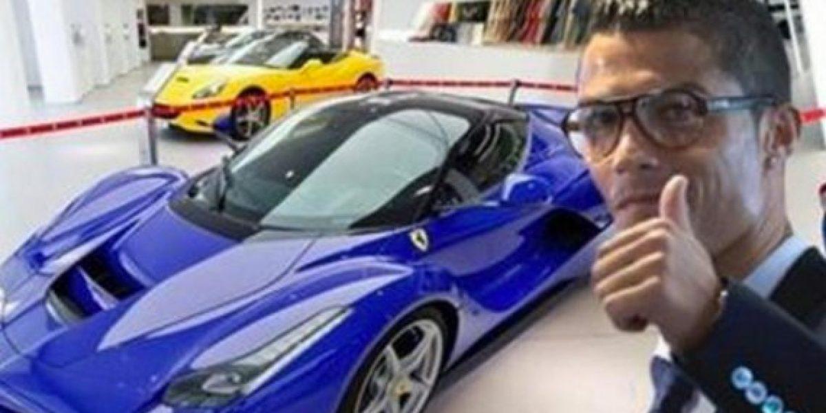 Cristiano Ronaldo no tendrá un Ferrari LaFerrari