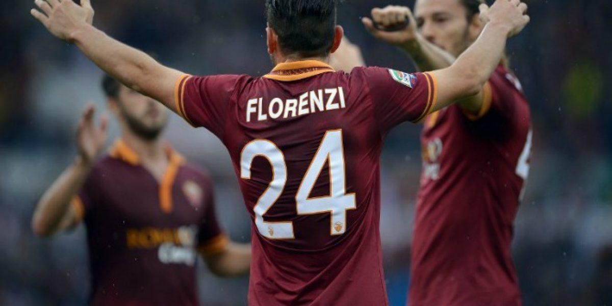 Video: ¡Espectacular! Florenzi postula al mejor gol del fin de semana con una chilena