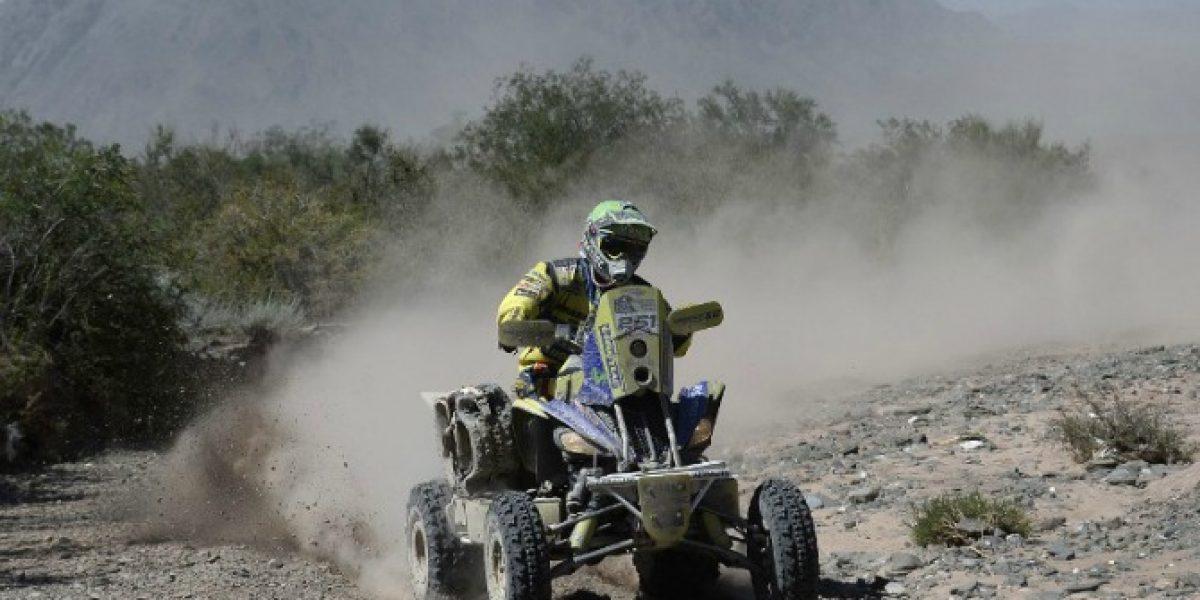 Casale ganó la 7ª etapa del Dakar y es el líder de los quads en la general