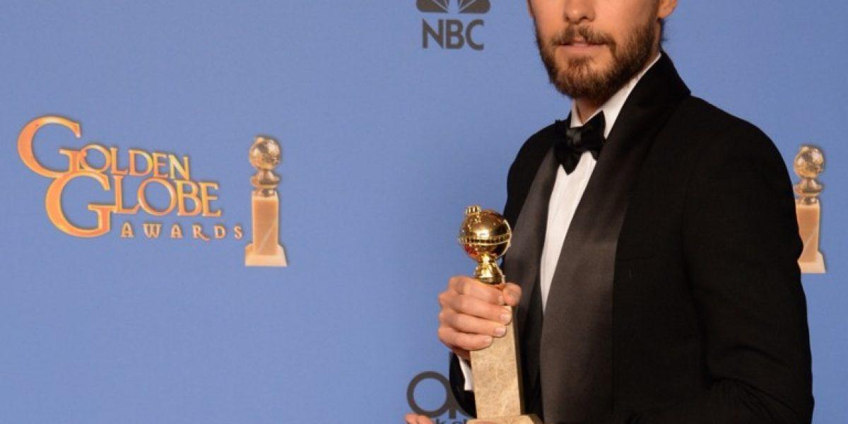 Jared Leto gana Globo de Oro a Mejor actor de reparto por
