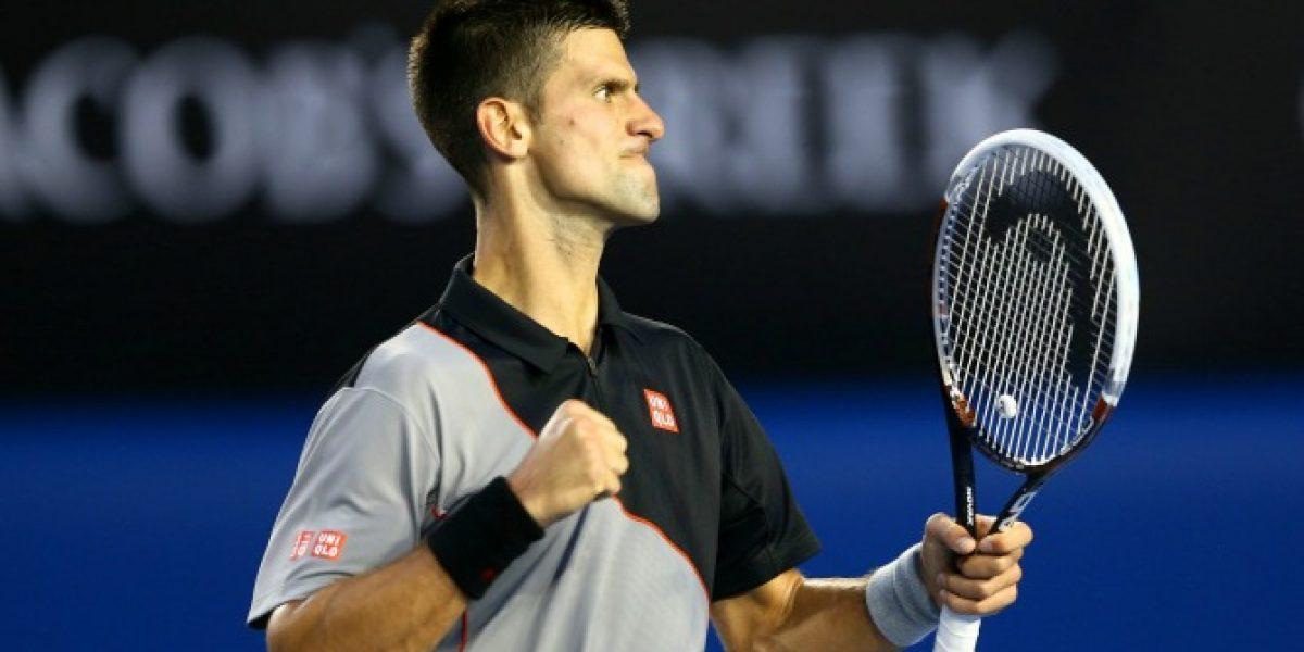 Djokovic inició con tranquila victoria su camino al penta en Australia