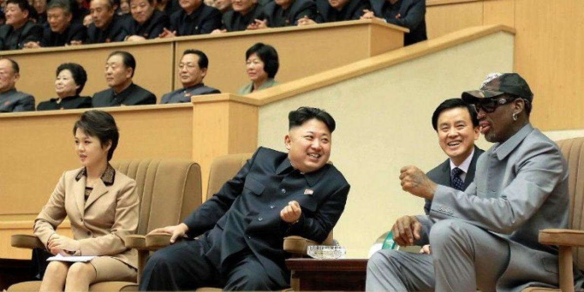 Rodman tras su visita a Corea del Norte: