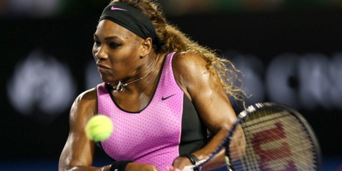 Serena Williams cumplió con su primer