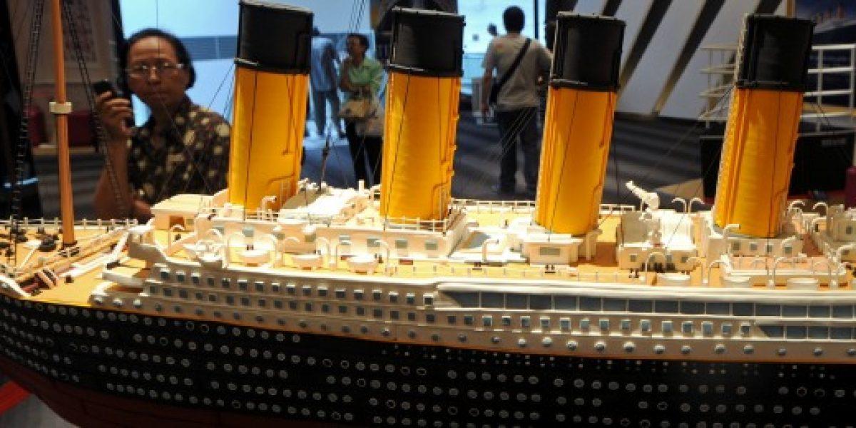 El Titanic reflotará en China