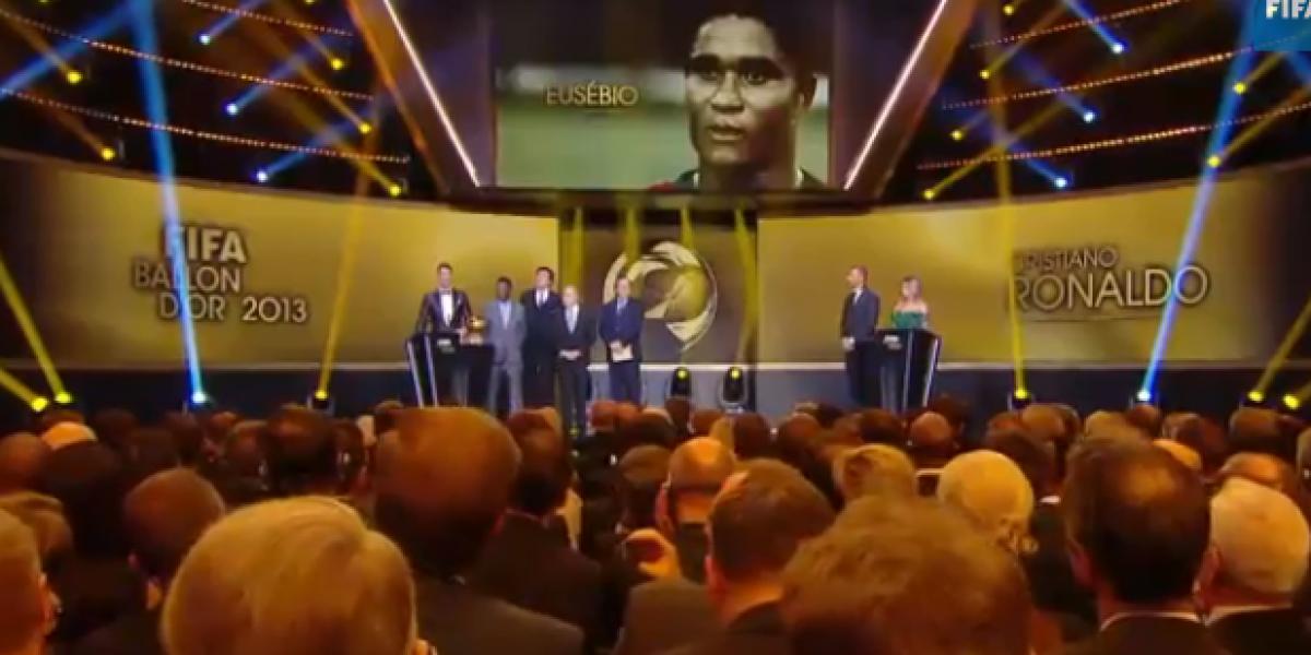 Galería: Las lágrimas de Cristiano Ronaldo al recibir el codiciado Balón de Oro