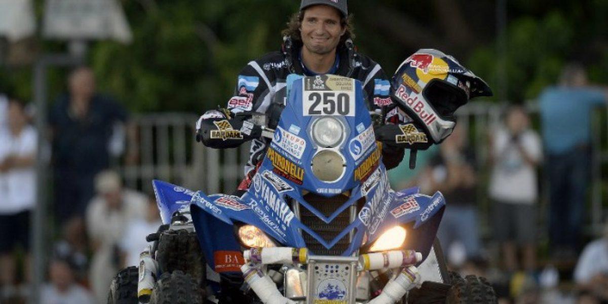 Campeón vigente del Dakar contra Casale: