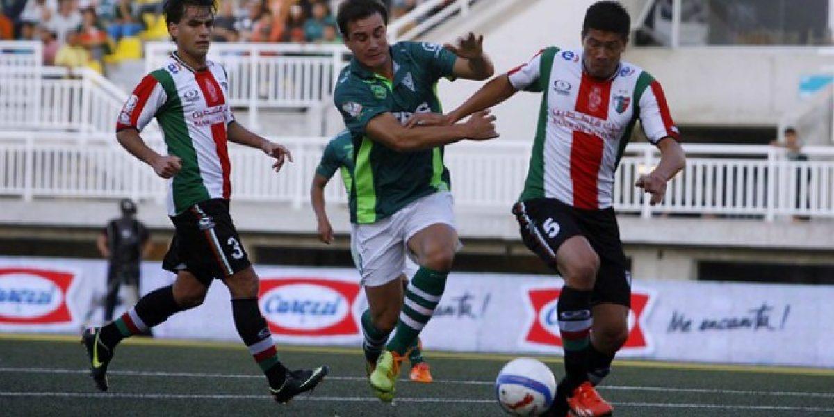 Wanderers y Palestino reparten puntos en caliente partido del Clausura