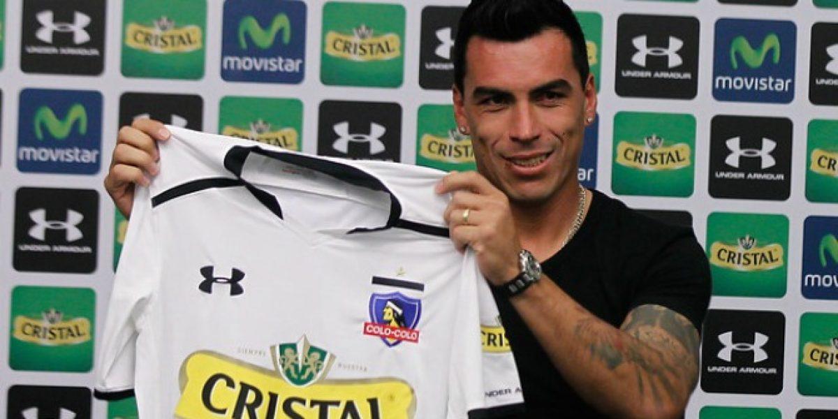 Disponible: Esteban Paredes podrá jugar ante Antofagasta el miércoles