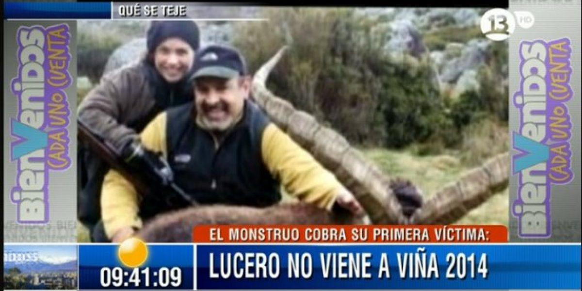 Periodista mexicana resta importancia a foto de Lucero y culpa a alcaldesa de su retiro del Festival