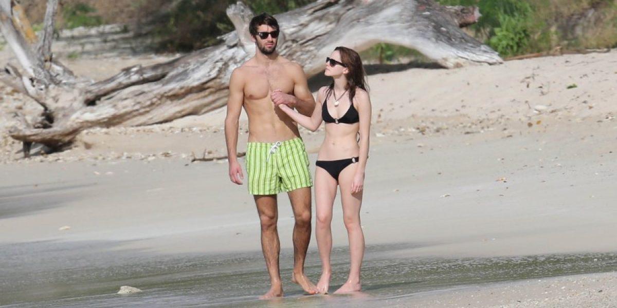 Emma Watson disfruta del caribe junto a su nuevo novio