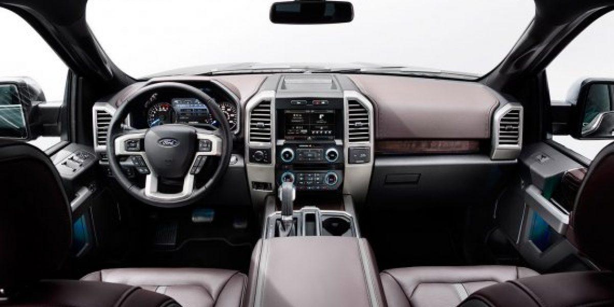 FOTOS:La renovada Ford F-150 que perdió 300 kilos