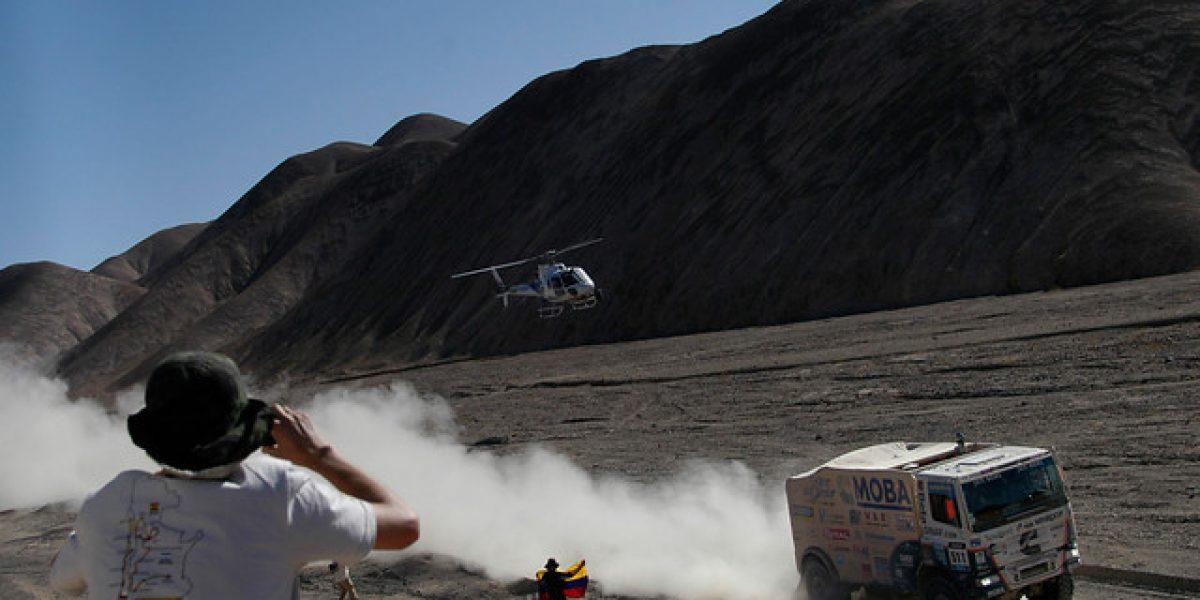 La Odisea llegó a Chile: las mejores fotos del Dakar en Calama
