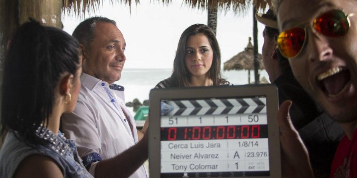 Luis Jara graba video de su primer single en Miami