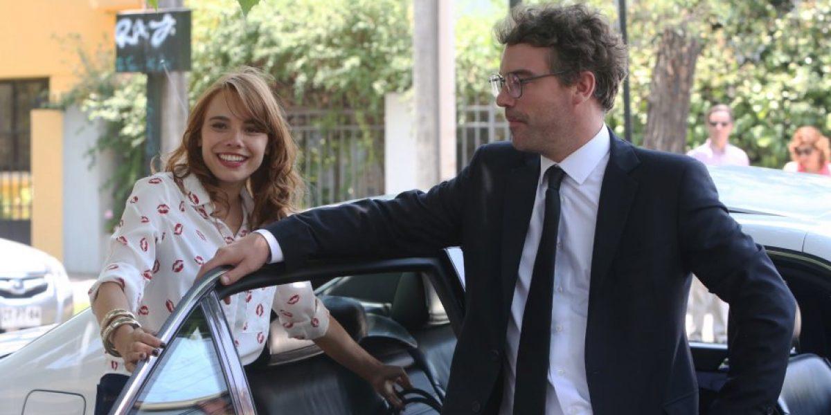 Mane Swett y Jorge Zabaleta inician grabaciones de nueva teleserie de TVN