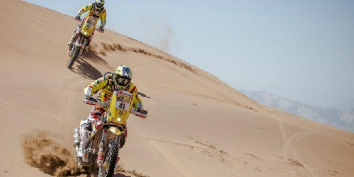 Llegada del Rally Dakar es aprovechado para promover turismo en Chile