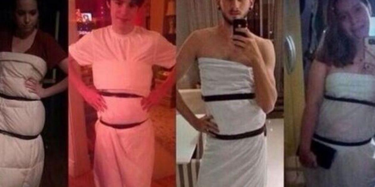 Las redes sociales se burlan del vestido de Jennifer Lawrence