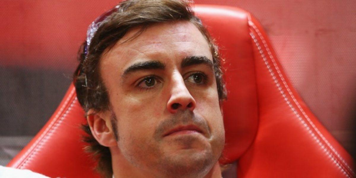 Alonso explicó su tatuaje de samurái: