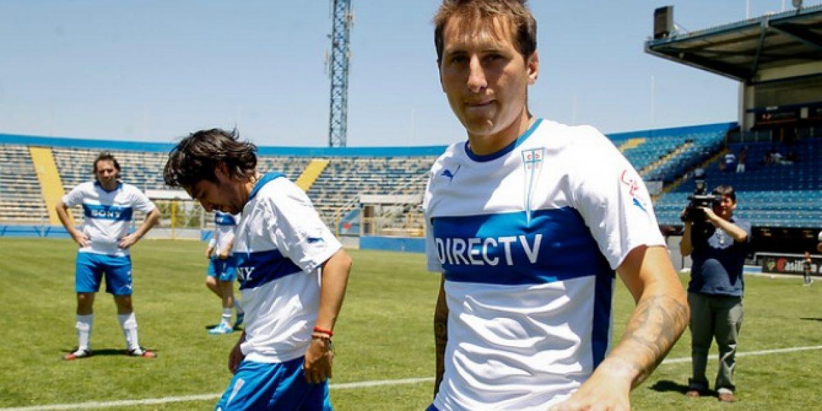 Buenas noticias en la UC: Llega pase de Darío Bottinelli y podría debutar este martes