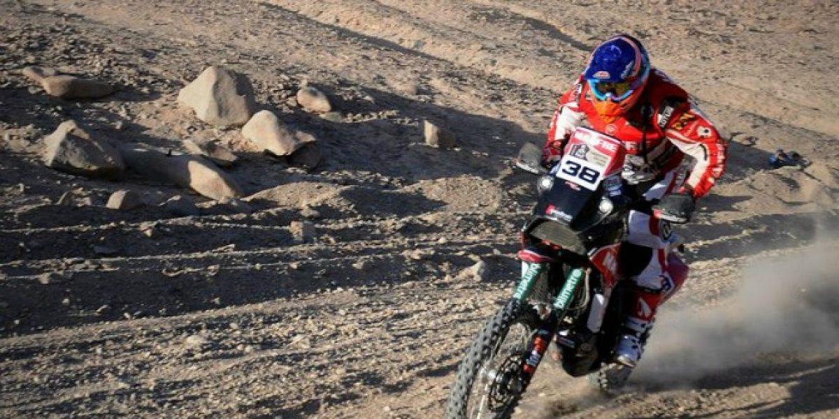 Jeremías Israel sigue acelerando y se acerca al podio del Dakar 2014