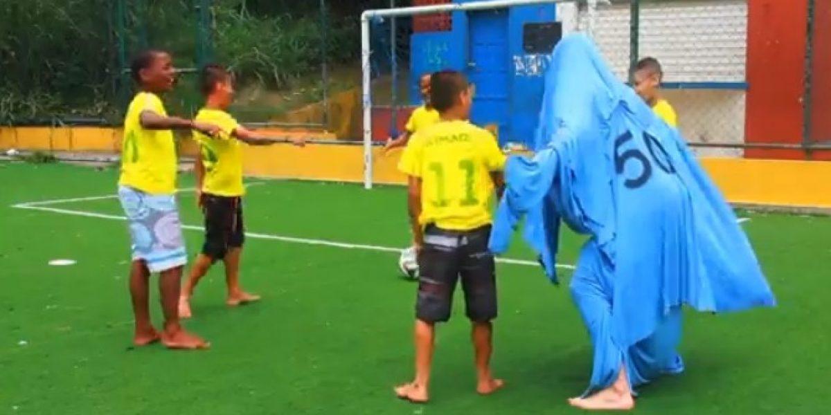 Brasil responde al video