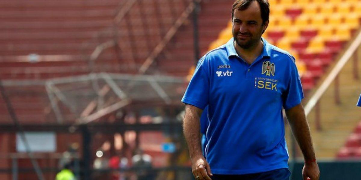 José Luis Sierra no pierde la tranquilidad: