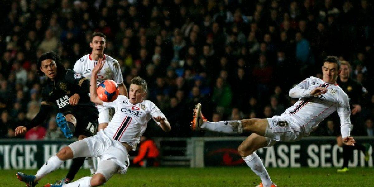 Wigan de Beausejour sufrió más de la cuenta para avanzar en la FA Cup