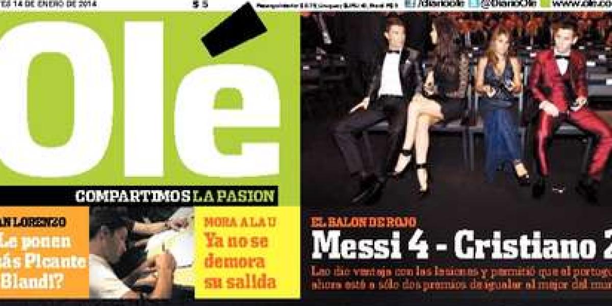 Cristiano Ronaldo acaparó las portadas del mundo deportivo tras obtener el Balón de Oro