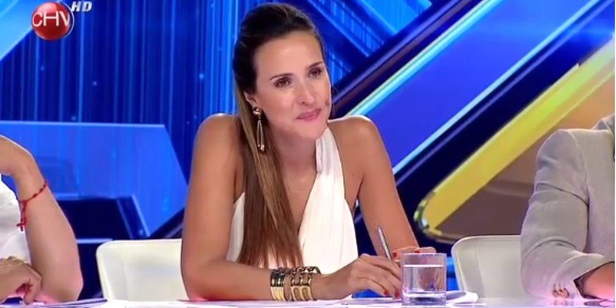 Angélica Castro se lo lloró todo en debut de