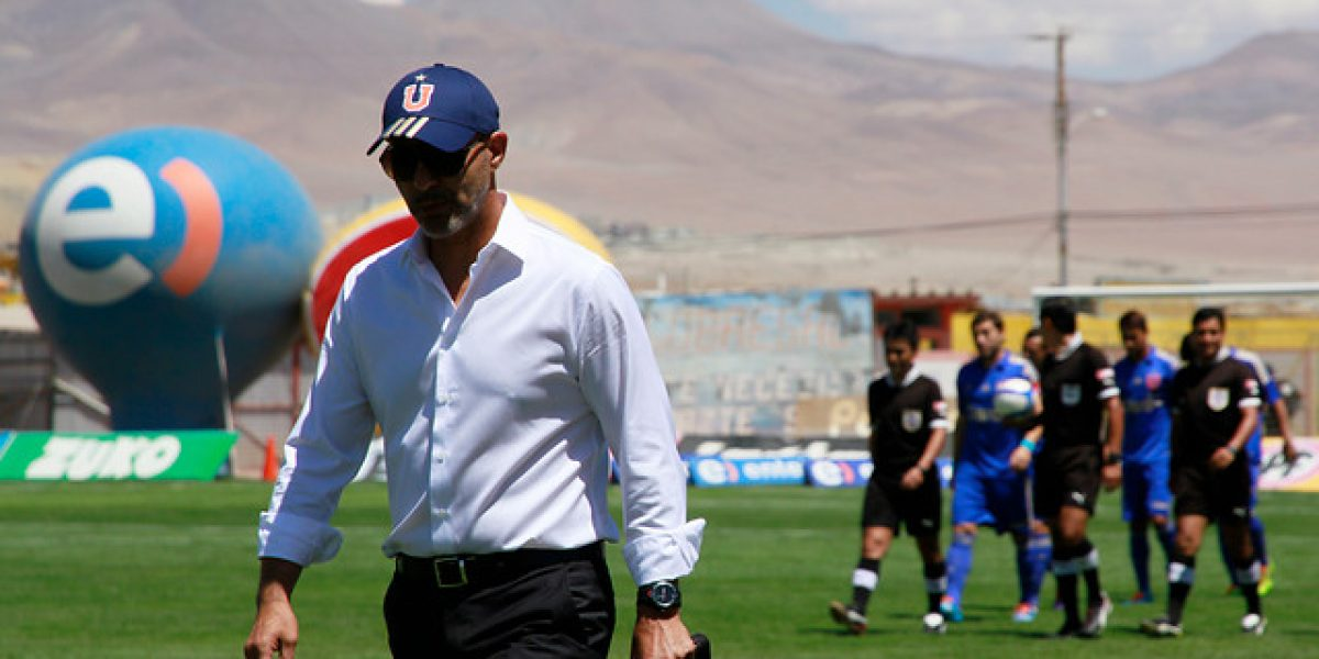 Marco Antonio Figueroa dejaría de ser el entrenador de la U