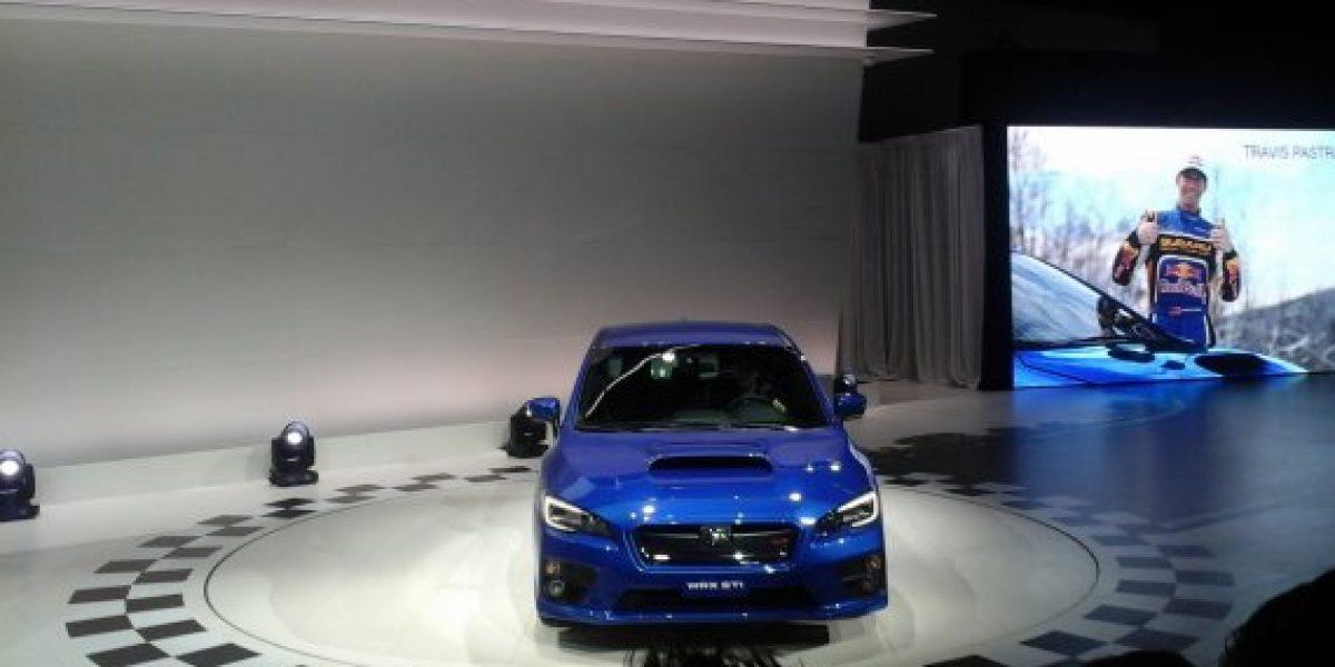 ¡Salón de Detroit En Vivo! Mira el nuevo Subaru Sti