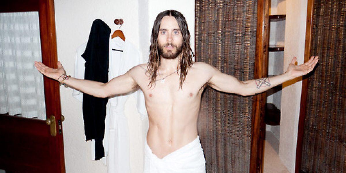 Jared Leto posa desnudo para el fotógrafo de las estrellas