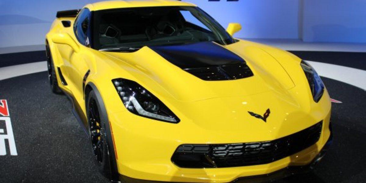 ¡Salón de Detroit En Vivo! El Impresionante Corvette Z06