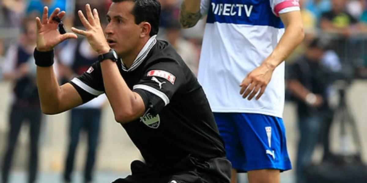 Enrique Osses será el representante del arbitraje chileno en Brasil 2014