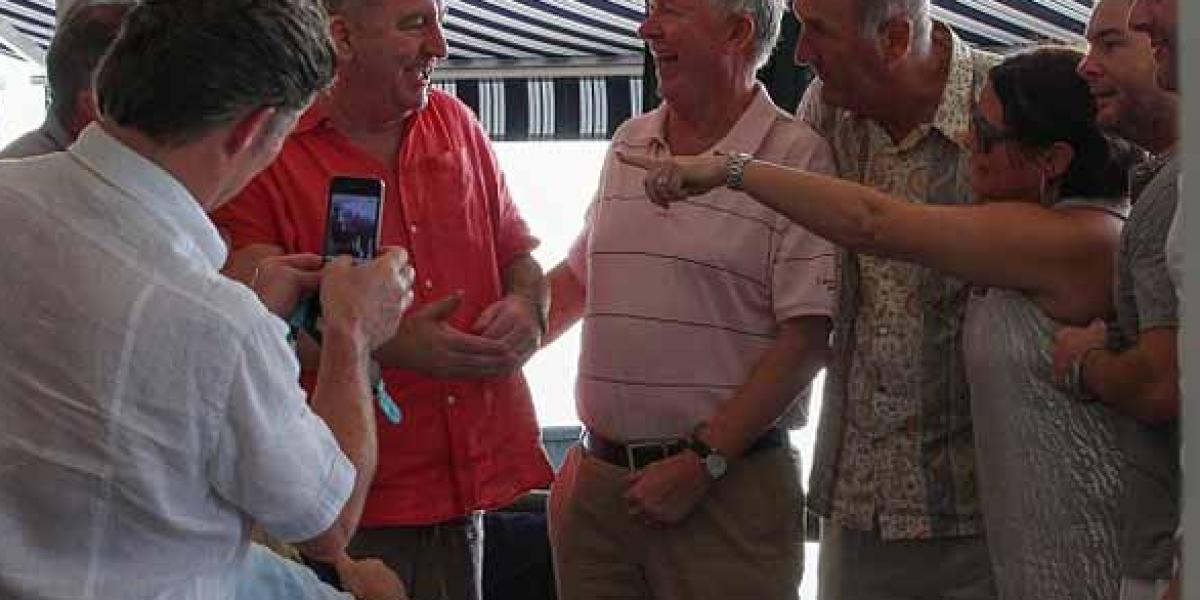Ferguson no fue a la premiación del Balón de Oro por andar de vacaciones en Barbados