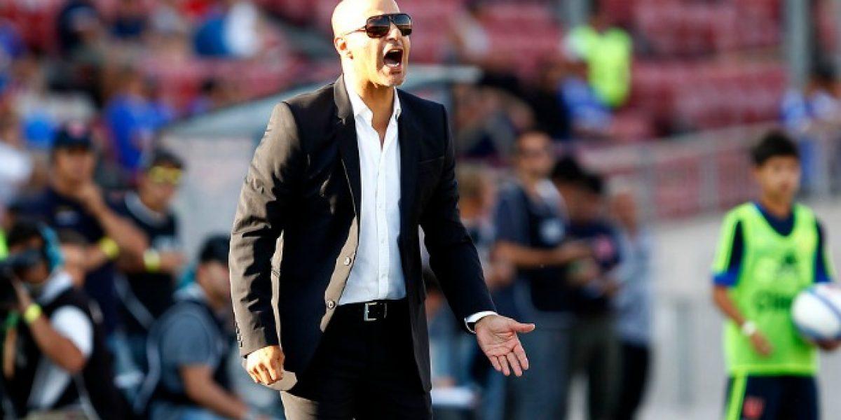 Marco Antonio Figueroa dejó de ser el entrenador de Universidad de Chile