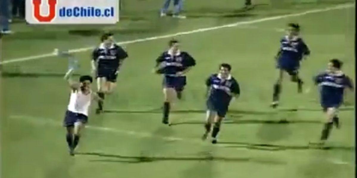 El gol más recordado del nuevo técnico de Universidad de Chile