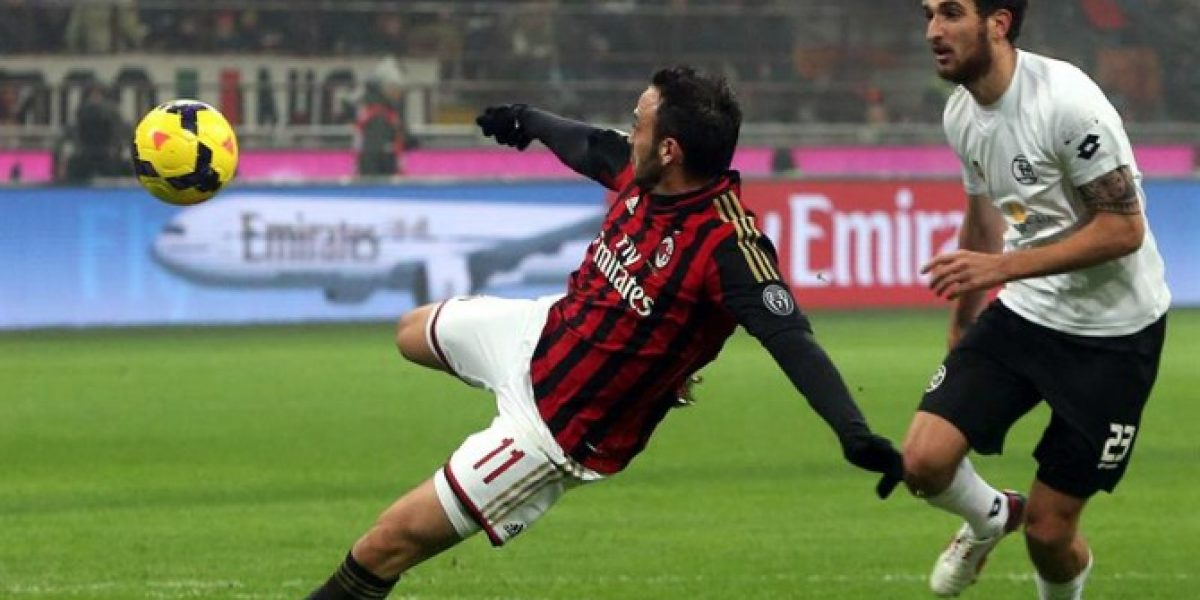Spezia de Felipe Seymour se despidió en octavos de final a la Copa Italia