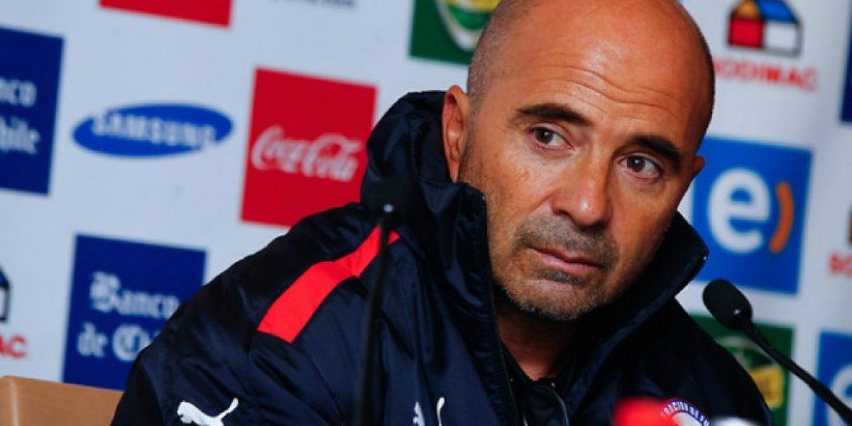 Estos son los 23 nominados de Jorge Sampaoli para encuentro amistoso contra Costa Rica