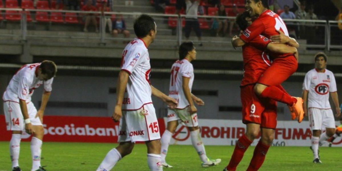 Ñublense se abrazó por primera vez en el Clausura a costa de La Calera