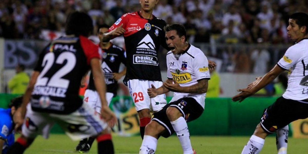 Colo Colo terminó sufriendo en el retorno de Esteban Paredes