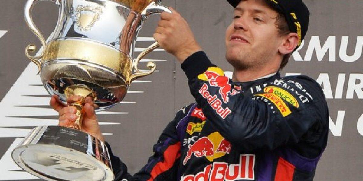 Sebastian Vettel se convirtió en padre