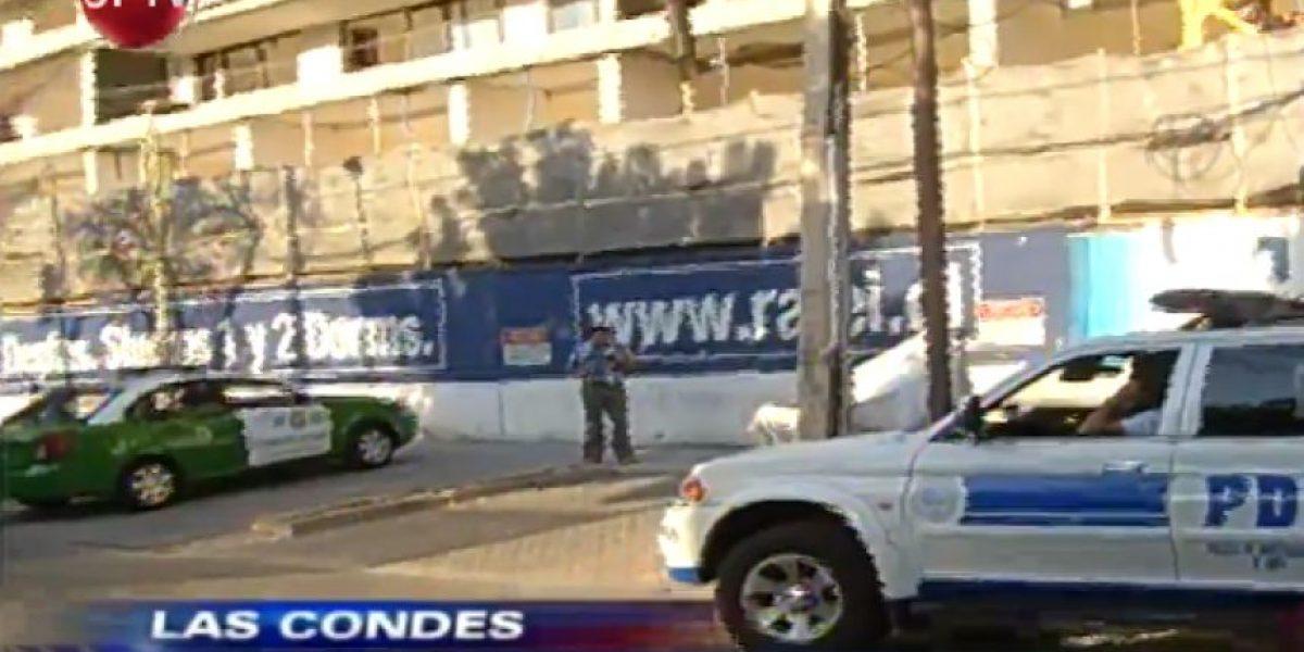 Grave se encuentra obrero tras caer desde el piso 16 de un edificio en Las Condes