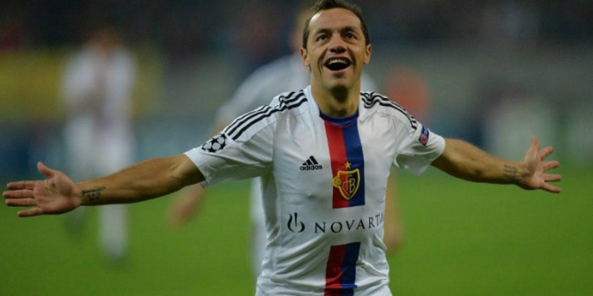 Marcelo Díaz extendió por un año más su vínculo con el Basilea