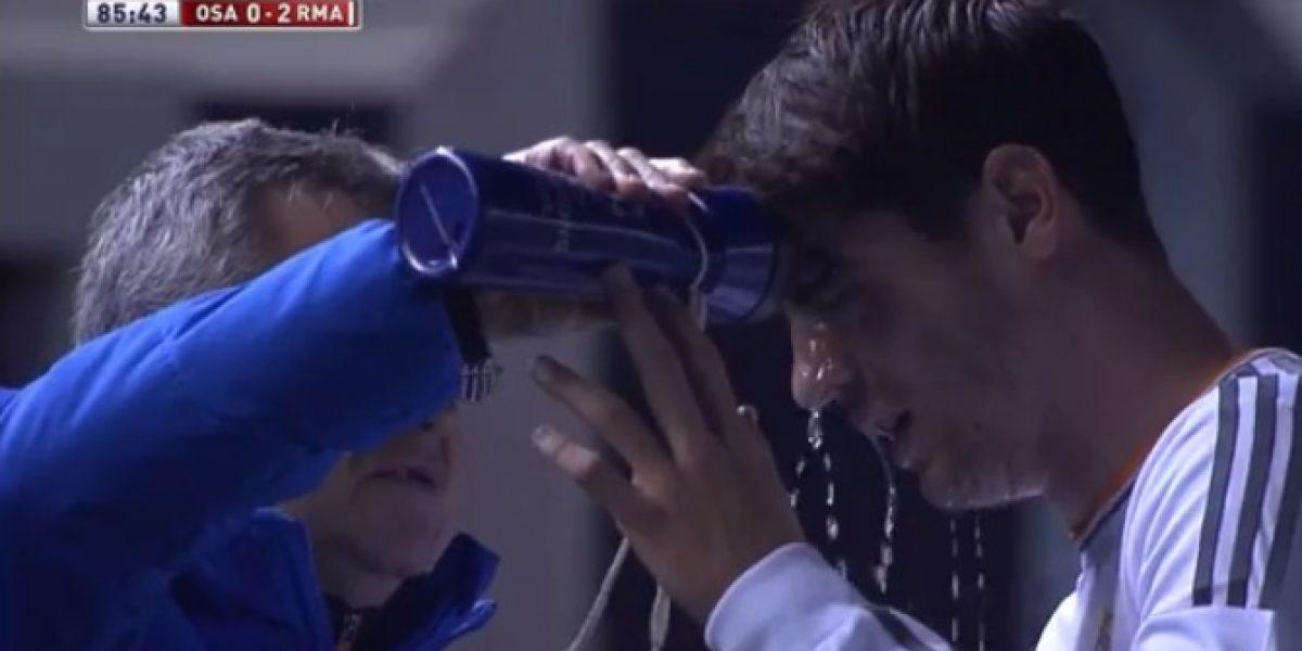 Video: El duro golpe que sufrió la nueva estrella juvenil del Real Madrid