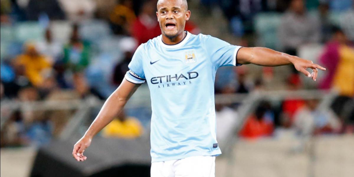Inédito: Jugador del Manchester City anota gol con trabajador del club
