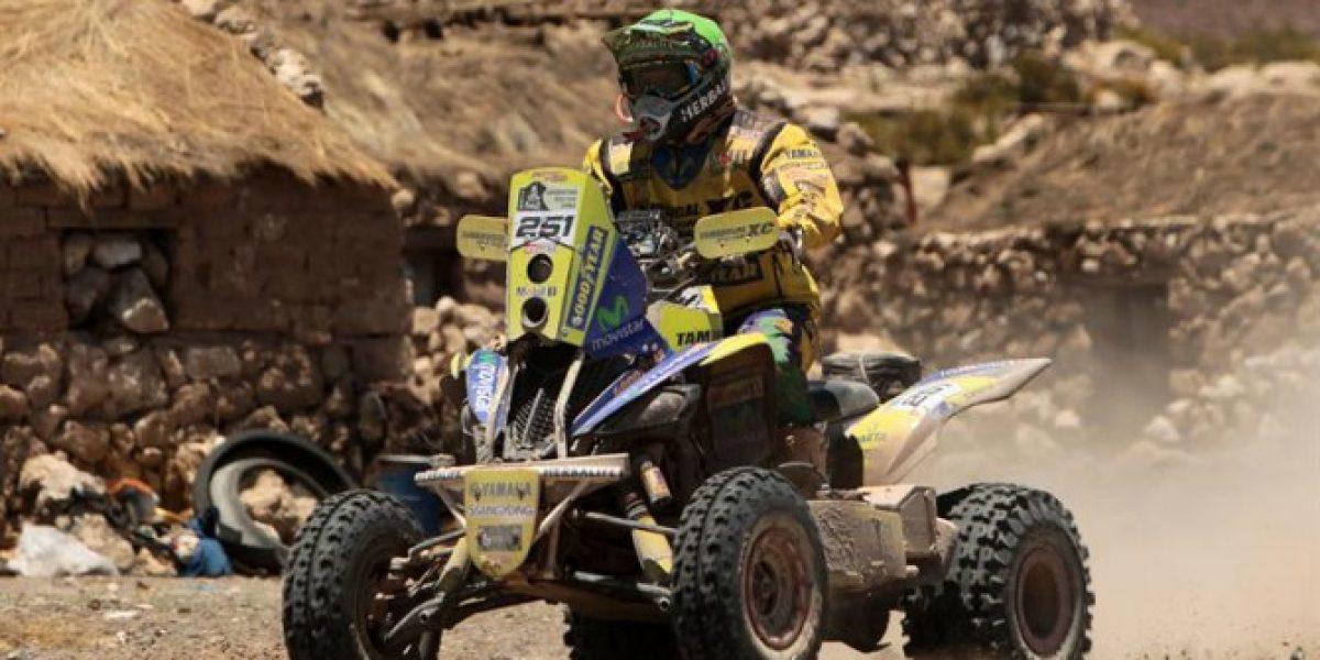 Sin competencia en el Dakar 2014: Casale sacó amplia ventaja de su escolta