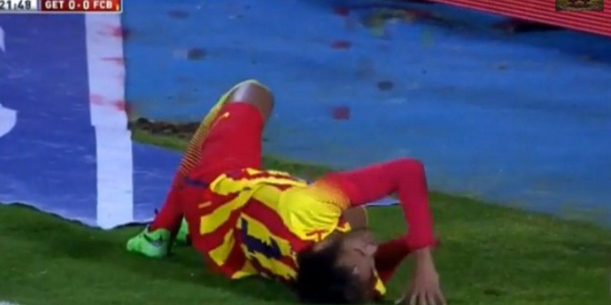 Video: la terrible lesión de Neymar que encendió las alarmas en Brasil y Barcelona