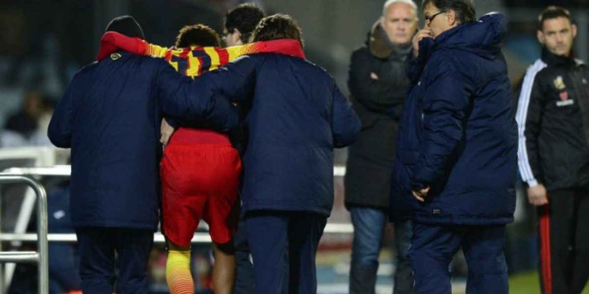 El diagnóstico preliminar de la seria lesión de Neymar